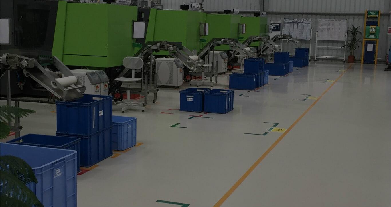 Anwendung der 5S in einer industriellen Umgebung